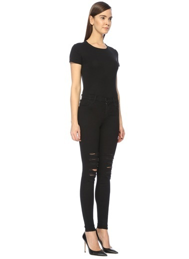 Yüksek Bel Slim Fit Jean Pantolon-J Brand